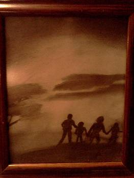 The Family  Walk by Renee McKnight