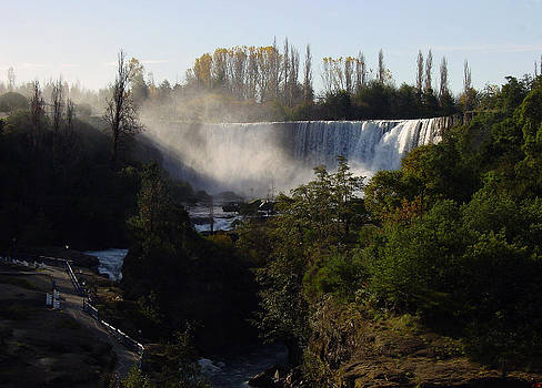 The Famous Waterfalls In Chile by Thomas D McManus