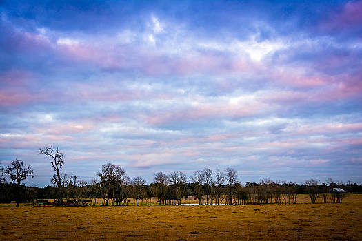 The Farm Before The Winter Storm  by Shey Stitt