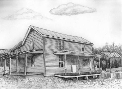 The Farm House by Reta Haube