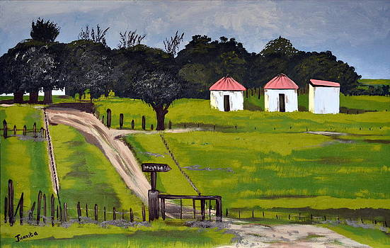 The Farm Landscape by Juanita Mulder