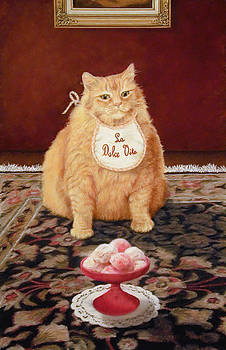 The Fat Cat Lives the Sweet Life by Barbara Groff