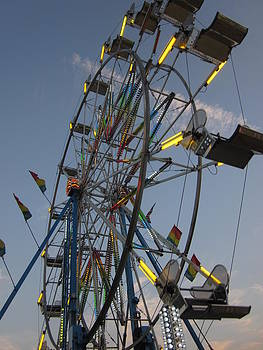 The Ferris Wheel by Guy Ricketts