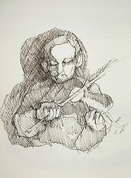 The Fiddler by Johanna Elik