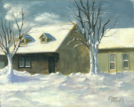 The First Snow by Erno Saller