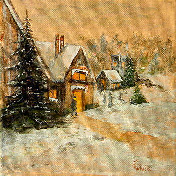 The First Snow by Judie White