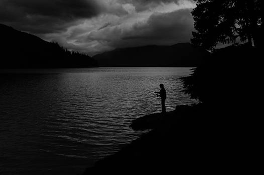 The fisherman by Charles Lupica