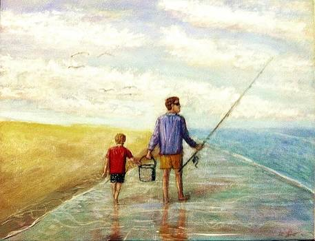 Larry E Lamb - The fishermen