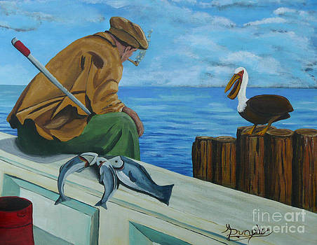 The Fishing Buddies by Anthony Dunphy