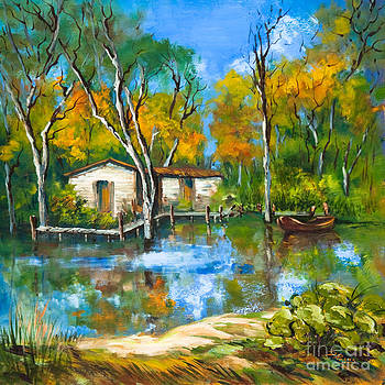 The Fishing Camp by Dianne Parks