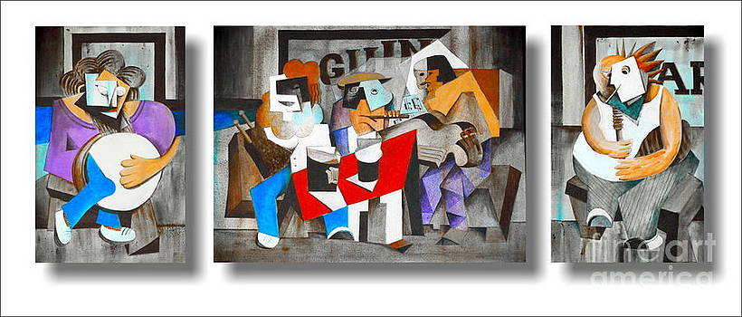 Val Byrne - The Five Musicians