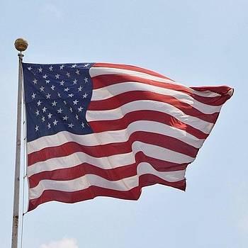 Eve Tamminen - The Flag 1/2.  #iloveny #newyork #ny