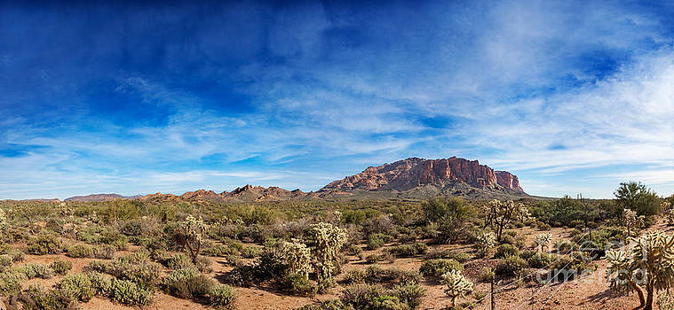 Jo Ann Snover - The Flatiron in Superstition Mountains