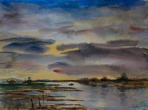 The flood by Horacio Prada