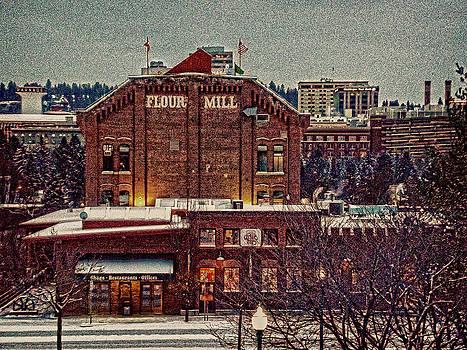 The Flour Mill Spokane WA by Dan Quam