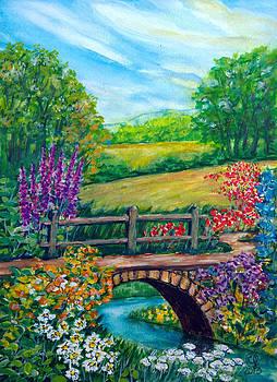 The Flowered Bridge by Catherine Jeffrey