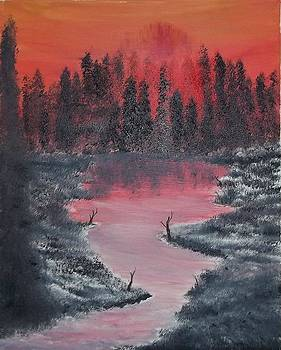 The Forest Fire by Tony  DeMerchant