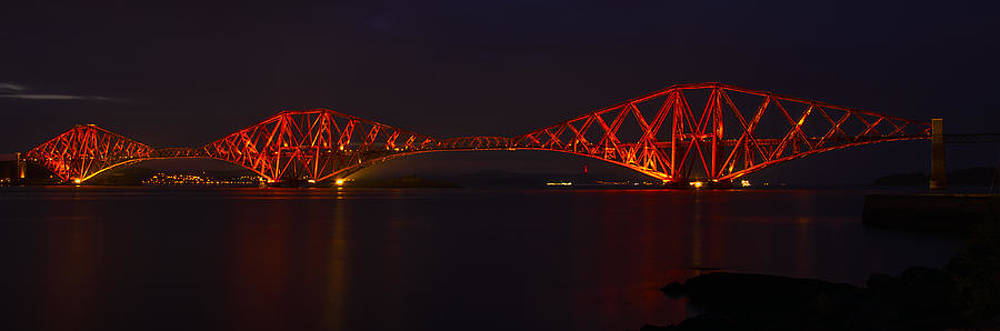 Ross G Strachan - The Forth Bridge by Night