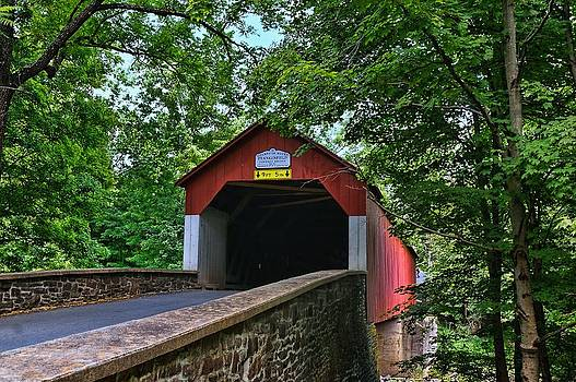 The Frankenfield Covered Bridge by Lanis Rossi