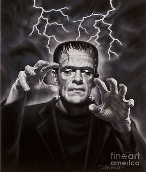 The Frankenstein Monster by Dick Bobnick