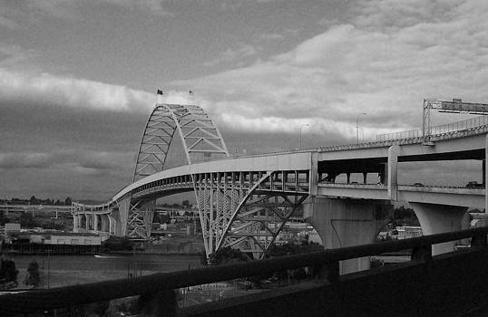 The Fremont Bridge by Heather L Wright