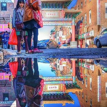 The friendship Arch To Chinatown In by Stacey Lewis