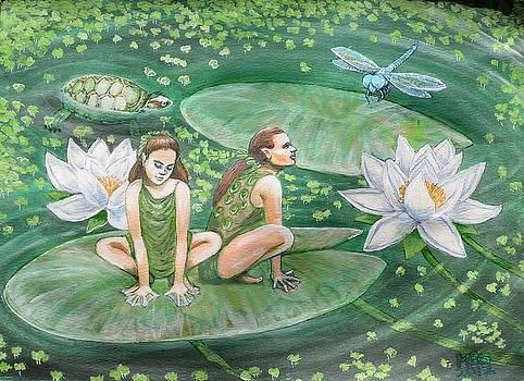The Frogpeople by Maria Elena Gonzalez