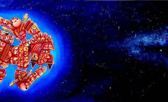 The Galactic Star 2012  by Heriberto  Luna
