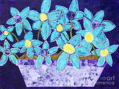 The garden box by Paula Drysdale Frazell
