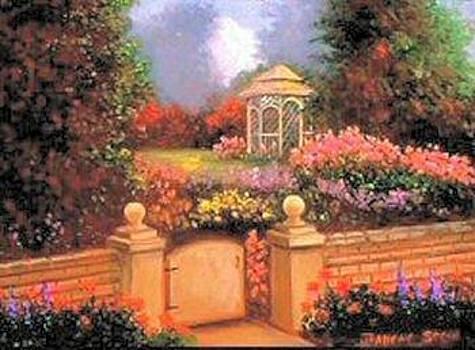 The Garden Gate by Jeanene Stein