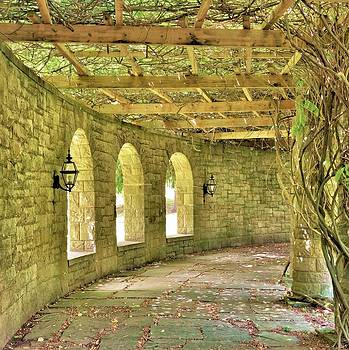 The Garden Walkway by Jean Goodwin Brooks