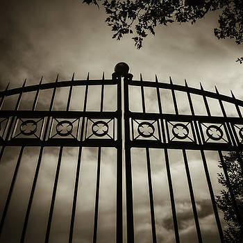 The Gate in Sepia by Steven Milner
