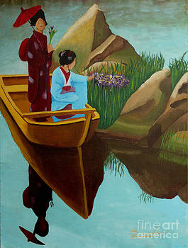 The Geisha Boat by Anthony Dunphy