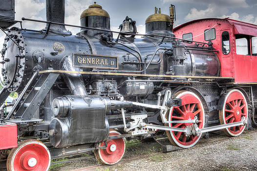The General II Train Engine by Gerald Adams