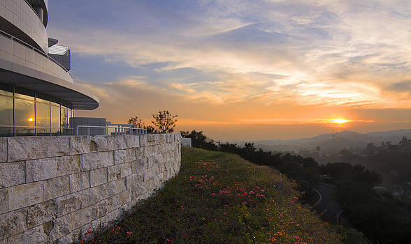 The Getty View by Spencer Bodian