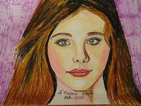 The girl 2 by Fladelita Messerli-