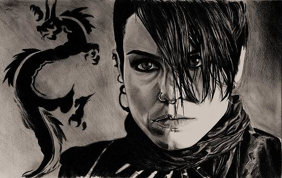 The Girl with The Dragon Tattoo by Kohdai Kitano