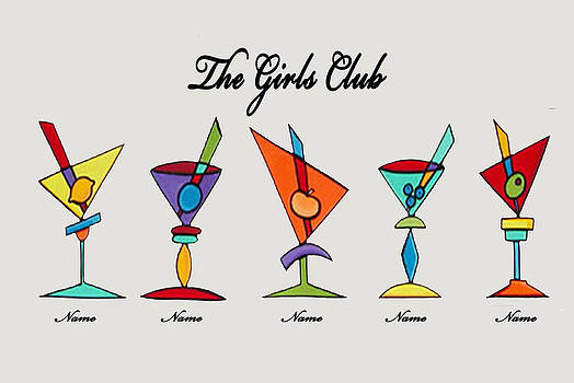The Girls Club  by Laura  Harris