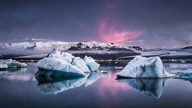 The Glacier Lagoon by Andreas Wonisch