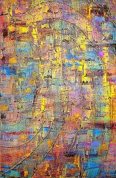 The Glowing Abstraction by Carla Sa Fernandes