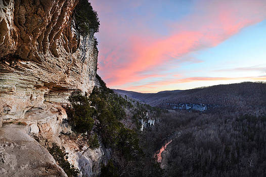 The Goat Trail at Sunset by Jeff Rose
