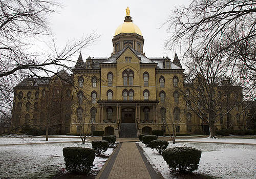 The Golden Dome of Notre Dame by Nathan Rupert
