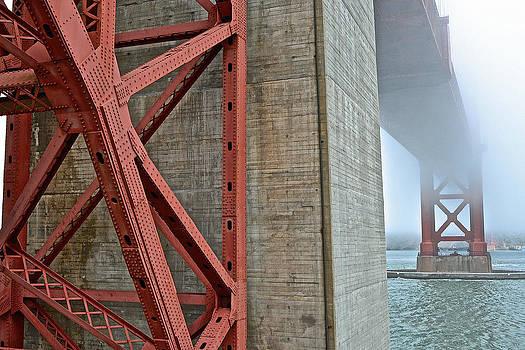 Bill Owen - The Golden Gate - Fort Point View