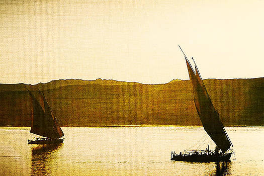Bamalam  Photography - Felluccas on the Nile