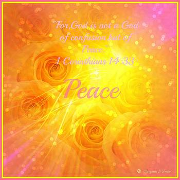 The Golden Roses of Peace by Maryann  DAmico