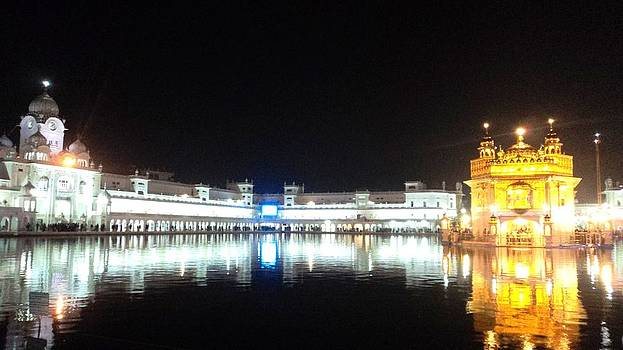 The Golden Temple by Jyoti Vats