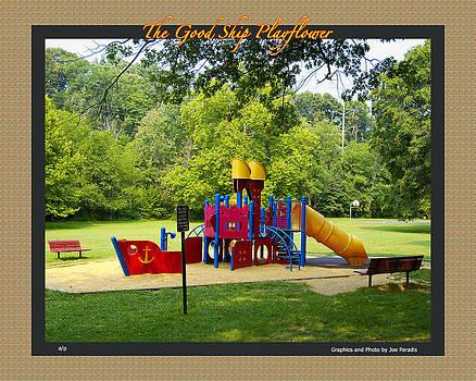 Joe Paradis - The Goodship Playflower Poster