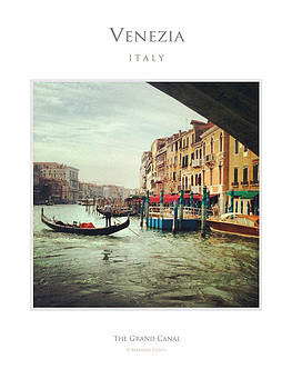 The Grand Canal Venice by Massimo Conti