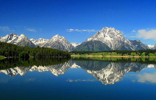 The Grand Tetons by Frank Houck
