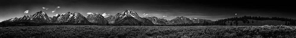 Paul W Sharpe Aka Wizard of Wonders - The Grand Tetons Panorama